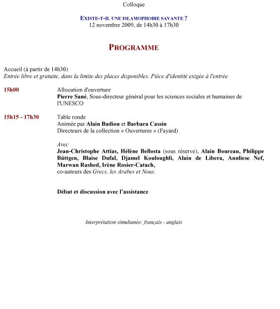 Microsoft Word - Projet de programme 23.10.09.doc