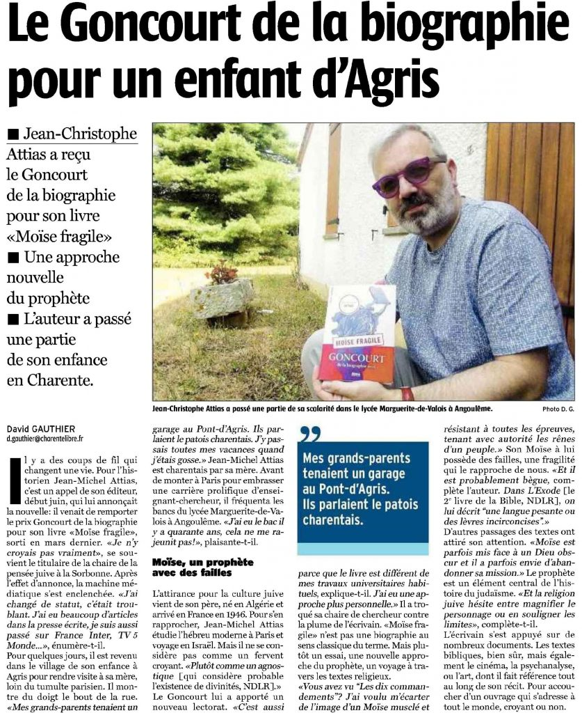 MF La Charente Libre